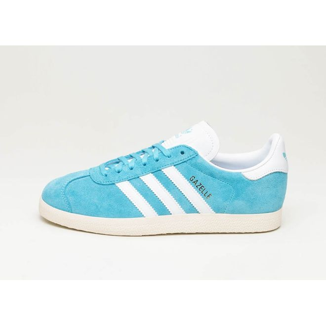 adidas Gazelle (Bright Cyan / Ftwr White / Cream White)
