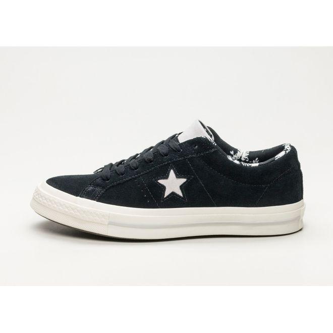 Converse One Star Ox (Black / Egret)
