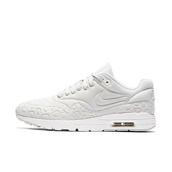 Nike Wmns Air Max 1 Ultra Plush (Light Bone Light Bone Atomic Pink | 844882 003