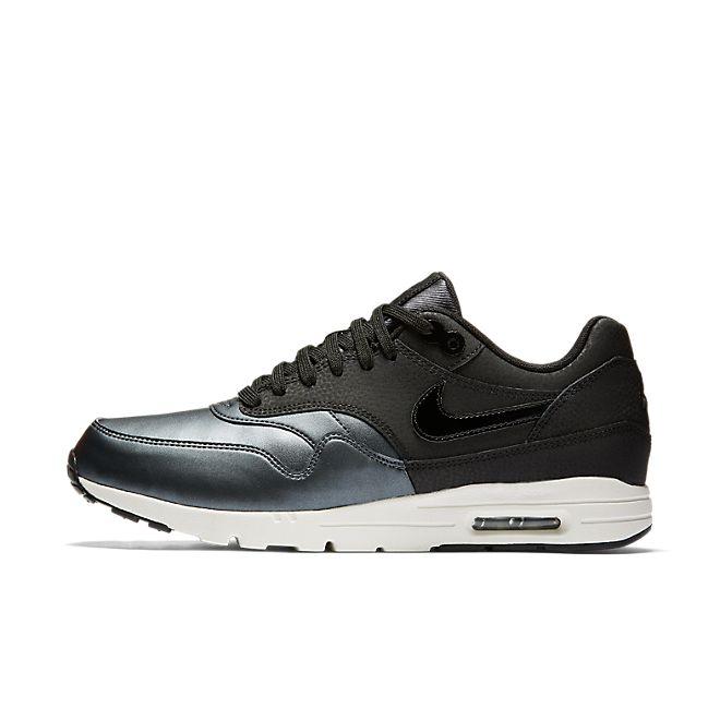 Nike Air Max 1 Ultra SE Premium Black Metallic Hematite Black   Footshop