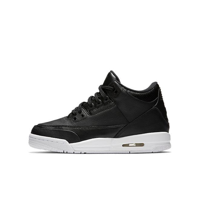 Nike Air Jordan 3 Retro BG *Cyber Monday* (Black / Black - White)