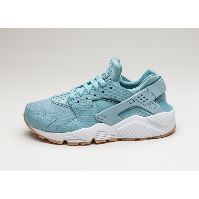 Nike Wmns Air Huarache Run SE (Mica Blue / Mica Blue - Gum Yellow - Wh