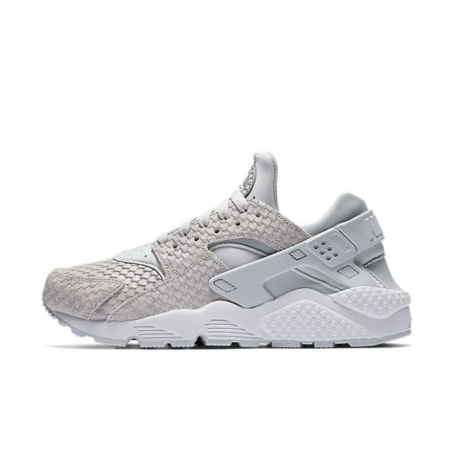 Nike Wmns Air Huarache Run PRM (Pure Platinum / Pure Platinum - White)