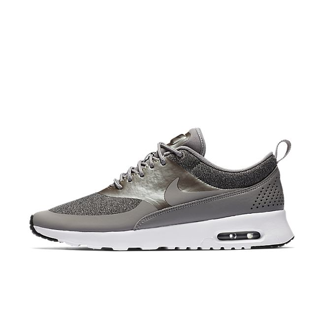 Nike Wmns Air Max Thea Knit (Dust Metallic Pewter Black