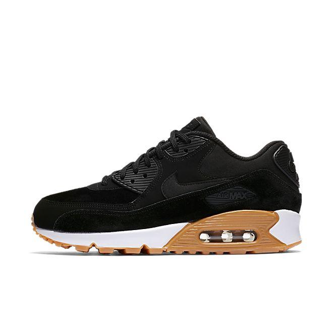 Nike Wmns Air Max 90 SE (Black Black Gum Light Brown White) | 881105 003