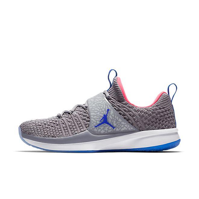 Nike Jordan Trainer 2 Flyknit (Atmosphere Grey / Racer Blue - Racer Pi