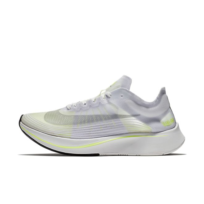 Nike Wmns Zoom Fly SP *Boston* (White / Volt Glow - Summit White)