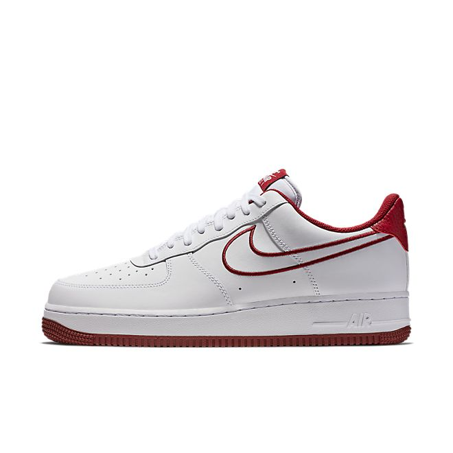 Nike Air Force 1 '07 Leather (White Team Red) | AJ7280 100
