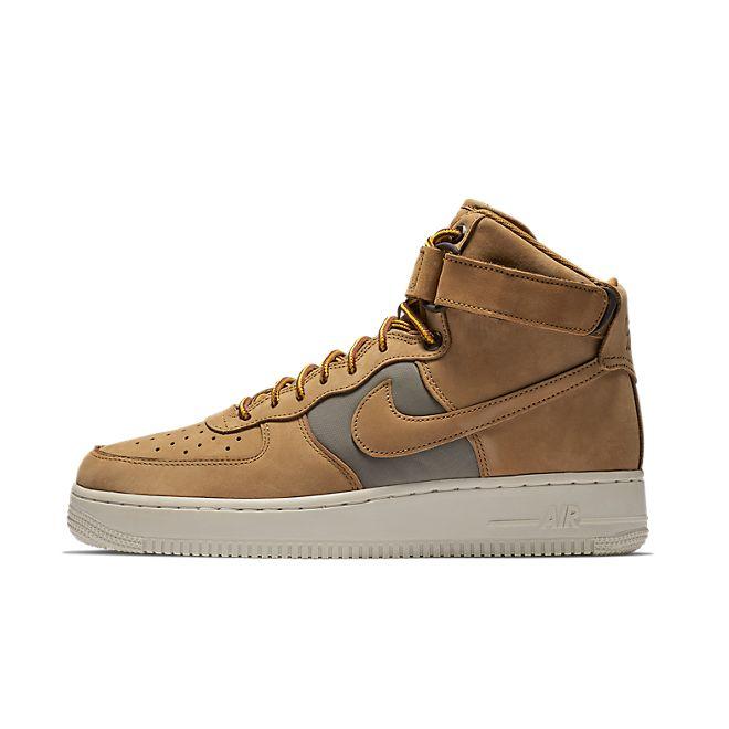 Nike Air Force 1 Hi '07 PRM (Wheat / Khaki - Light Bone - Yellow Ochr