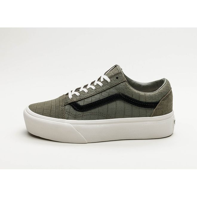 Vans Old Skool Platform *Embossed* (Grape Leaf / Blanc De Blanc) | VA3B3UQWK