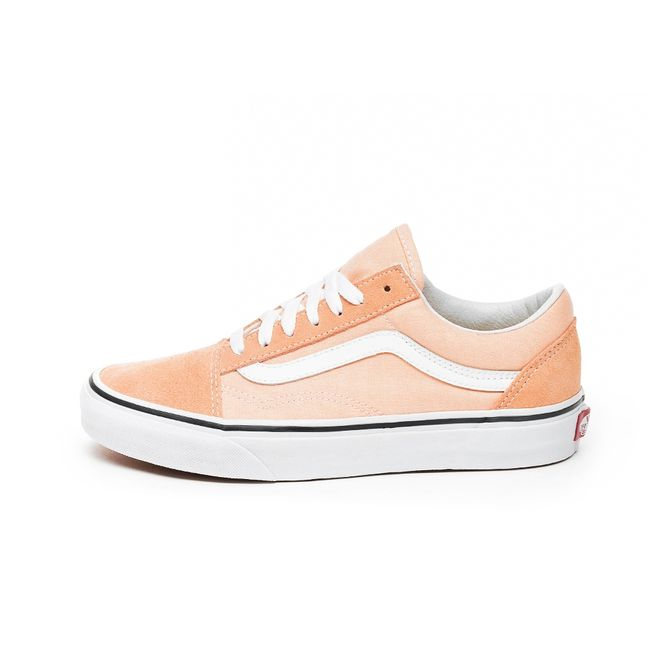 Vans Old Skool (Bleached Apricot / True White)