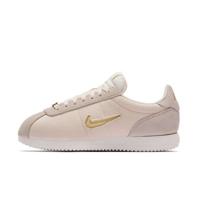 Nike Wmns Cortez Basic Jewel '18 (Phantom / Metallic Gold Star - Summ