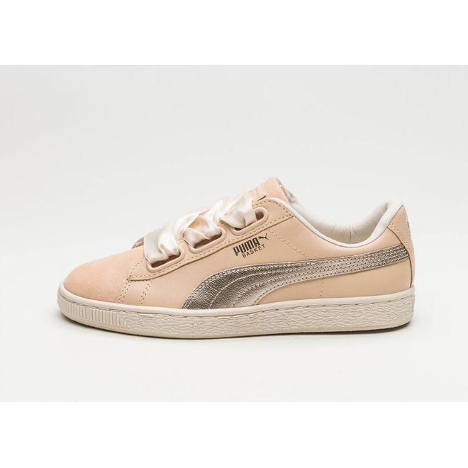 separation shoes aa7bd 42cee Puma Basket Heart Up (Natural Vachetta / Natural Vachetta) Release Info 🔥  364955 01