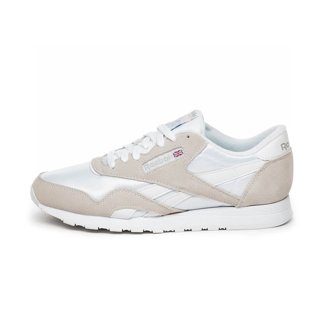monigote de nieve Sureste código postal  Reebok Classic Nylon (White / Light Grey) | 6390 | Sneakerjagers