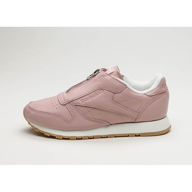 Reebok Classic Leather Zip (Shell Pink / Chalk / Silver)