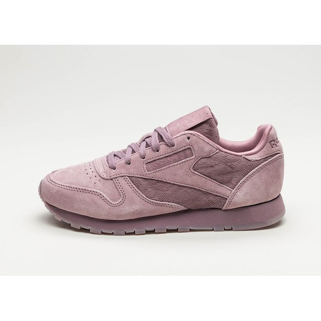 Reebok Classic Leather *Lace Color Wash Pack* (Smoky Orchid / White)