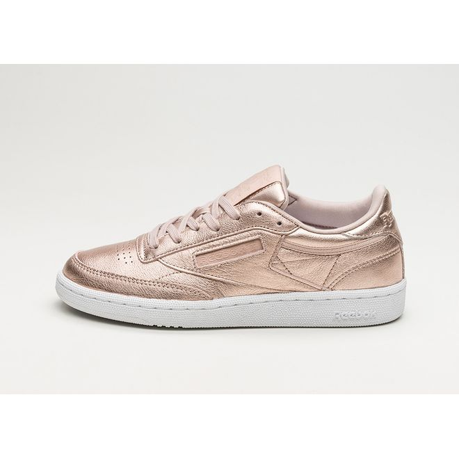 bc56808c3 Reebok Club C 85 Leather Melted Metals (Pearl Metallic / Peach ...