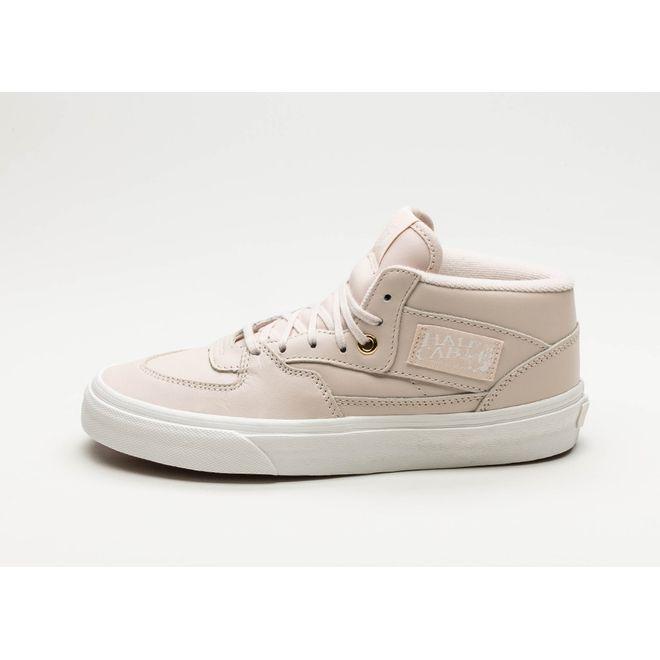 Vans Half Cab DX *Leather* (Whisper Pink / Gold)