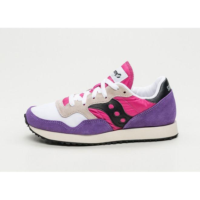 Saucony DXN Trainer Vintage (White / Purple / Pink)