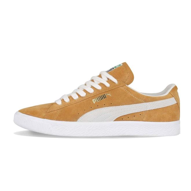Puma Suede 90681 Honey Mustard Puma White | 365942 03