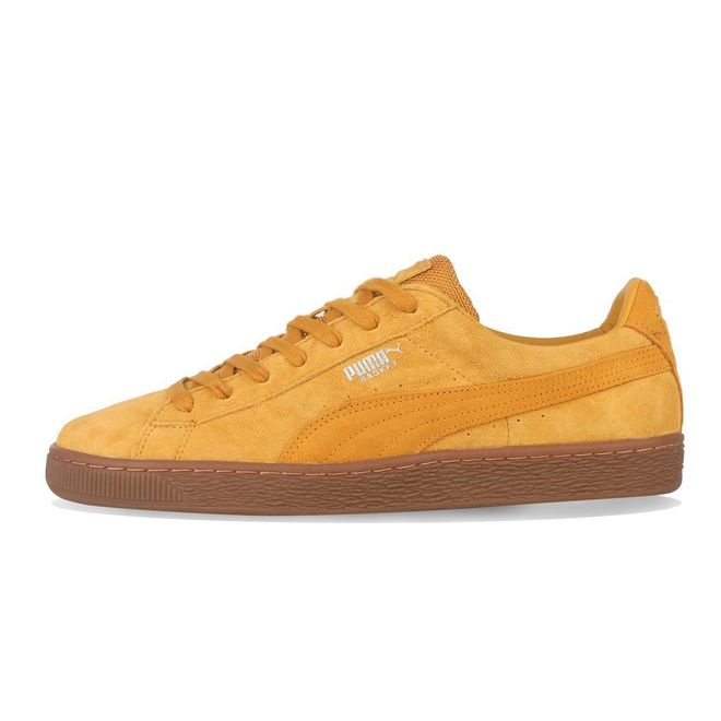 Puma Basket Classic Weatherproof Sunflower