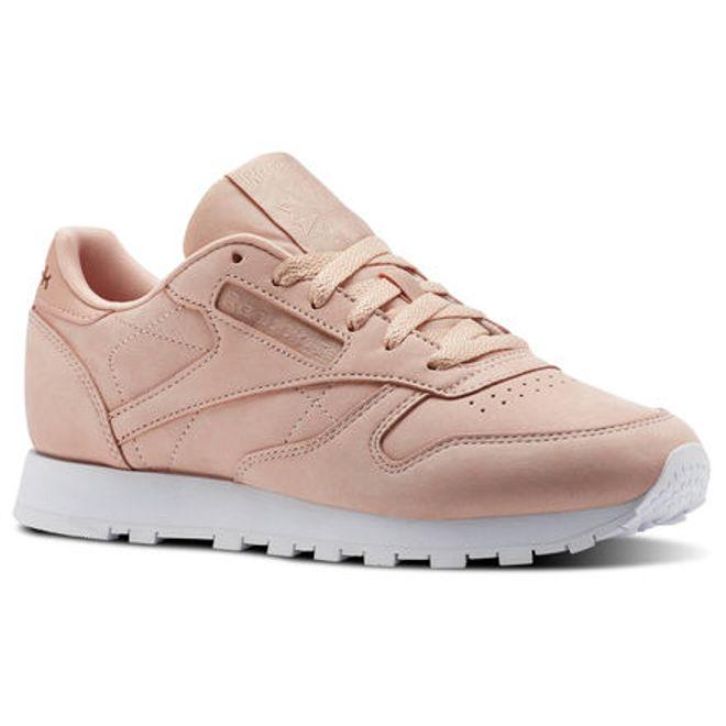 Reebok Classic Leather Nude Nubuck | CN1504 | Sneakerjagers
