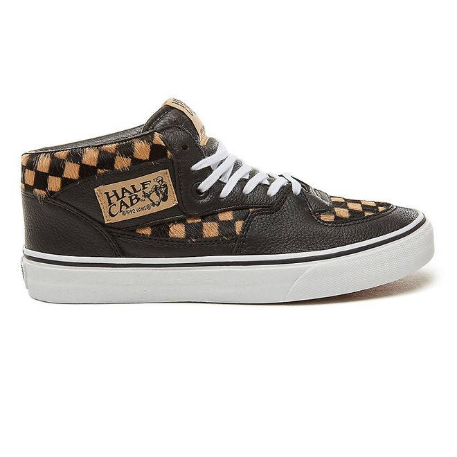 VANS Calf Hair Checkerboard Half Cab