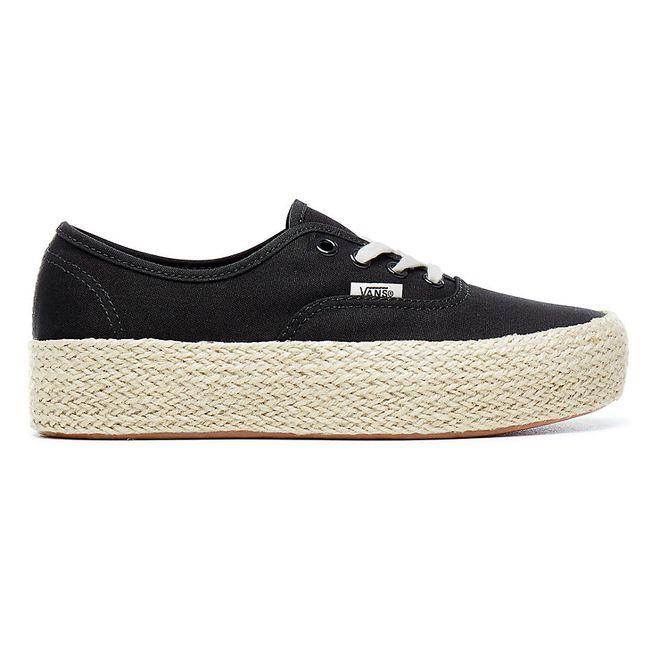 VANS Authentic Platform Espadrille | VA3NAQBLK | Sneakerjagers