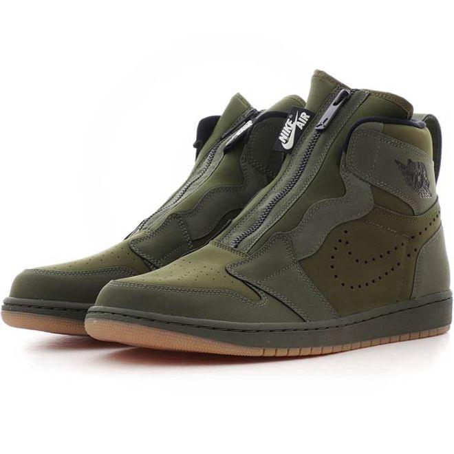 Air Jordan 1 High Full Zip zijaanzicht