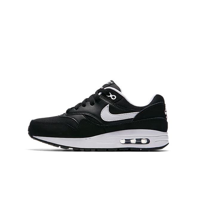 Nike Air Max 1 GS Black White Kids