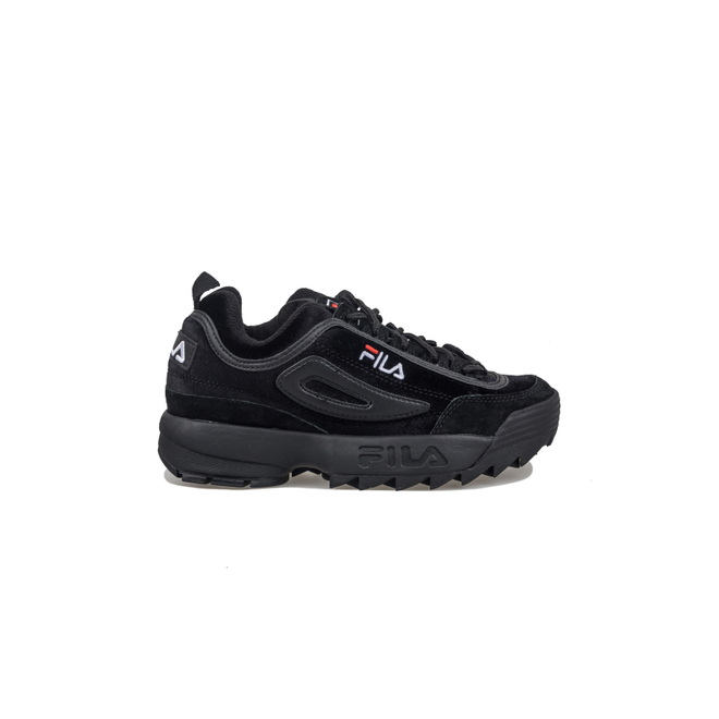 Fila Disruptor Low Black Black