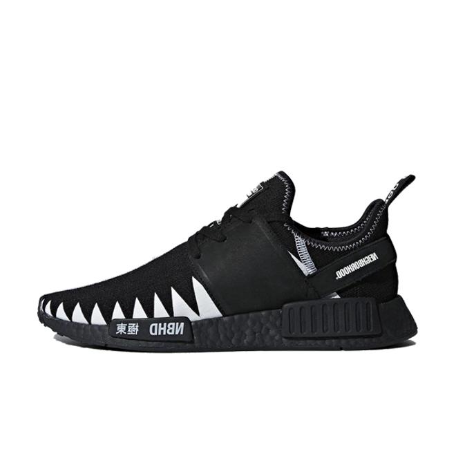 Neighborhood x adidas NMD R1 Black