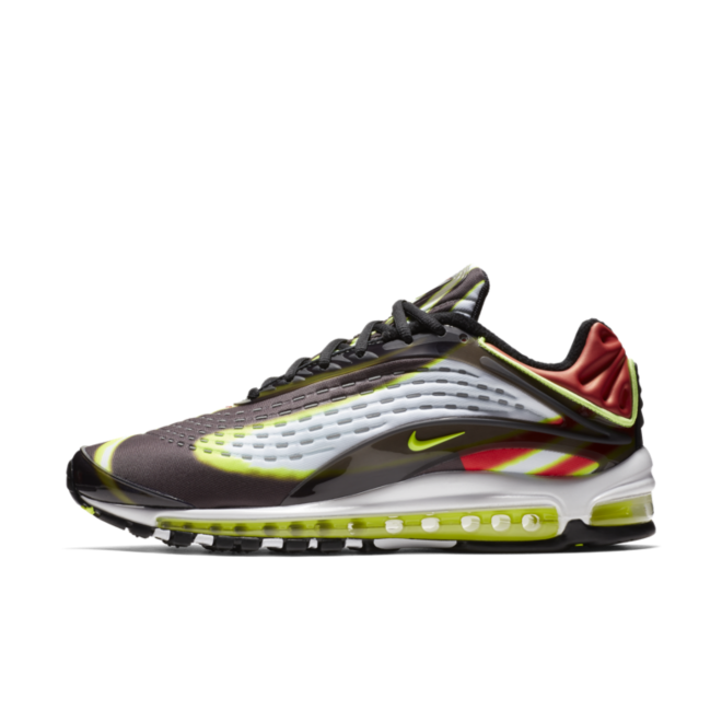 Nike Air Max Deluxe 'Black/Volt' zijaanzicht