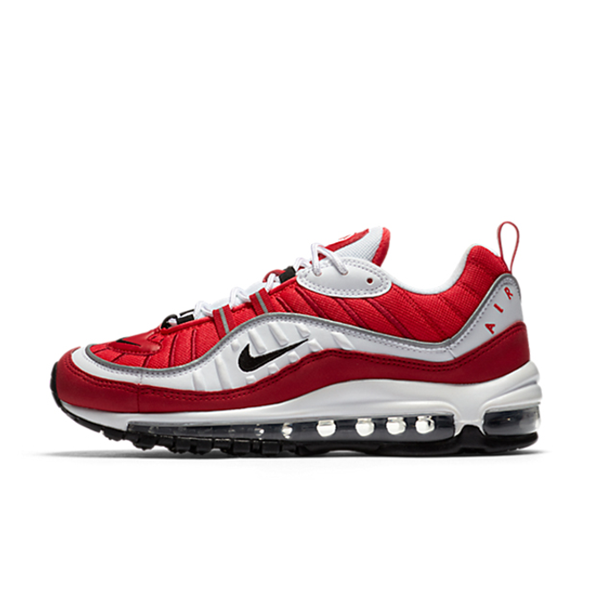 "Nike Air Max 98 WMNS ""Gym Red"" zijaanzicht"