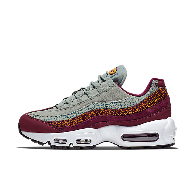 new style 70043 17686 Nike Air Max 95 PRM Bordeaux / Yellow | 807443-601 | Sneakerjagers