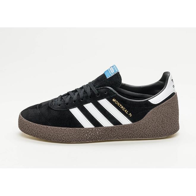 adidas Montreal 76 (Core Black / Ftwr White / Gold Metallic)
