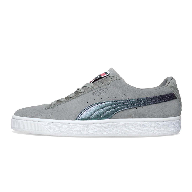 Puma x Staple Pigeon Suede Classic Frost Grey