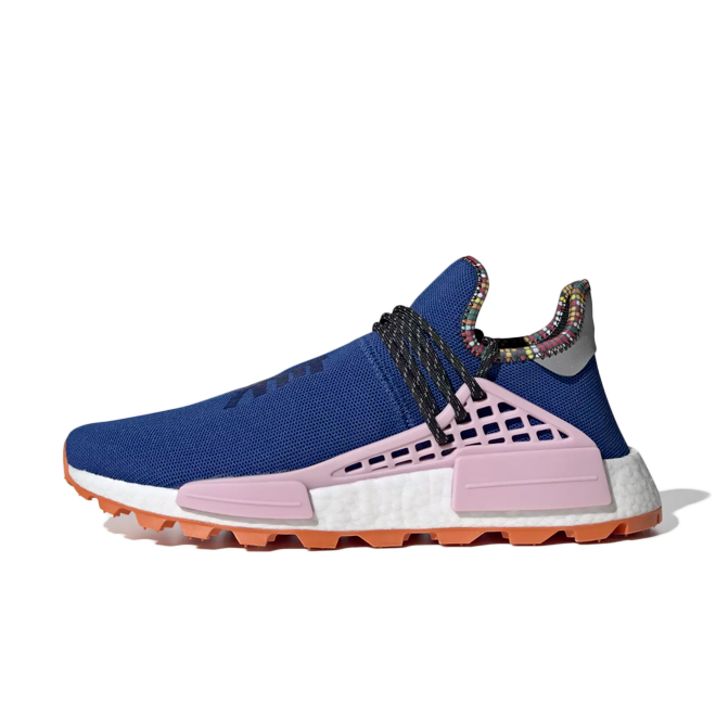 adidas x Pharrell Williams Solar Hu NMD 'Power Blue' EE7579