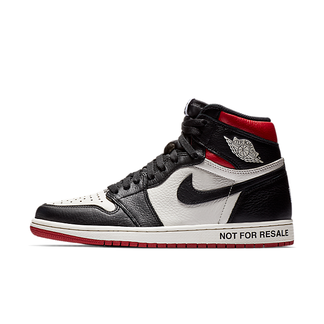 Air Jordan 1 OG NRG 'Not For Resale' zijaanzicht