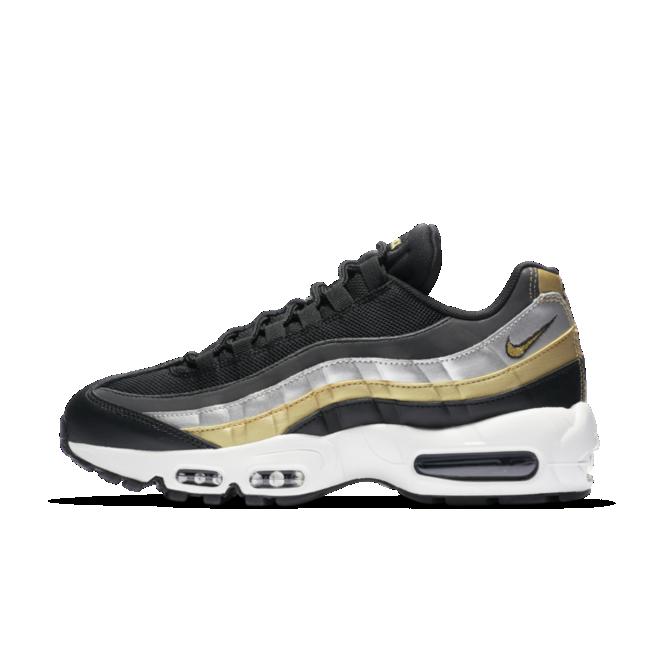 Nike Air Max 95 'Silver & Gold' zijaanzicht