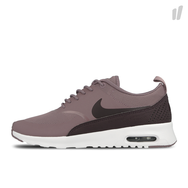Nike Wmns Air Max Thea (Taupe Grey / Port Wine - White)