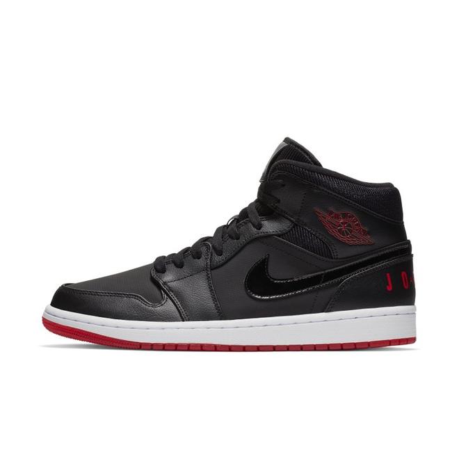 Air Jordan 1 Mid  zijaanzicht