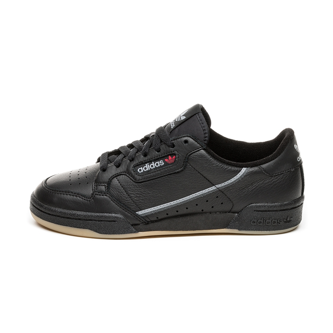 adidas Continental 80 (Core Black / Grey Three / Gum)