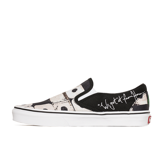Vans x A Tribe Called Quest Classic Slip-On zijaanzicht