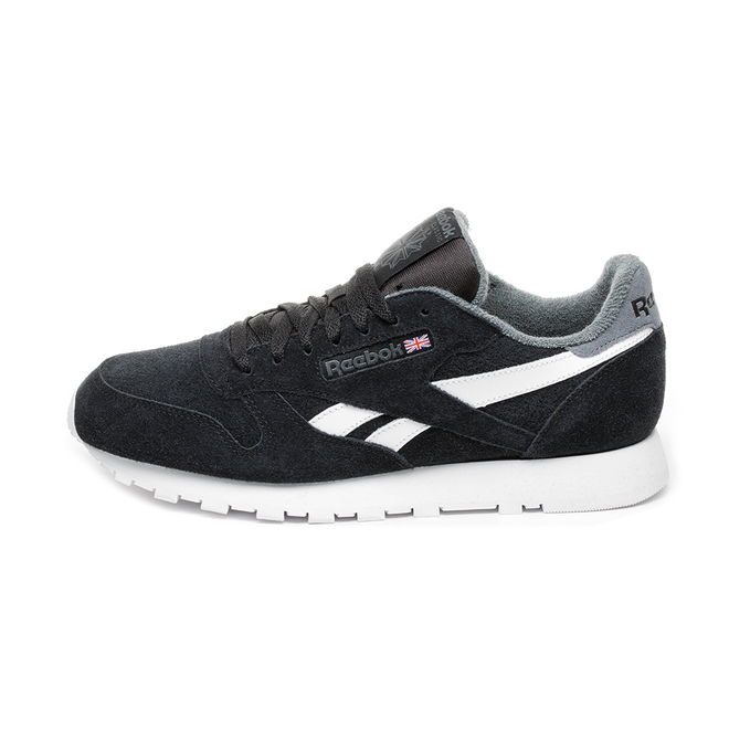Reebok Classic Leather MU (Black / True Grey)