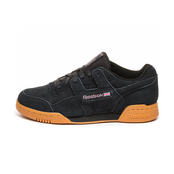 Reebok Workout Plus MU (Black / Noble Orchid / Gum)