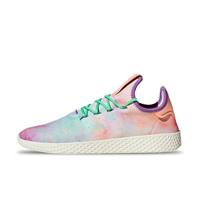 Pharrell x adidas Tennis Hu Holi 'Chalk Coral' zijaanzicht
