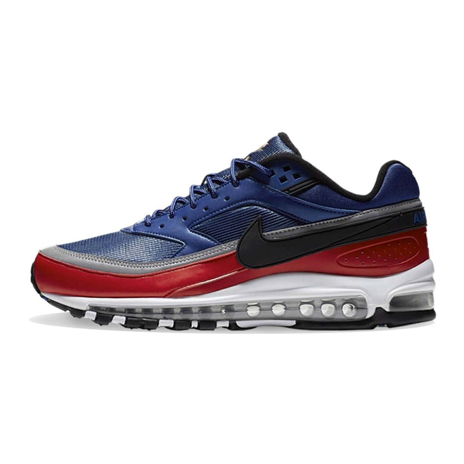 Nike Air Max 97/BW Royal Blue / Black / Red