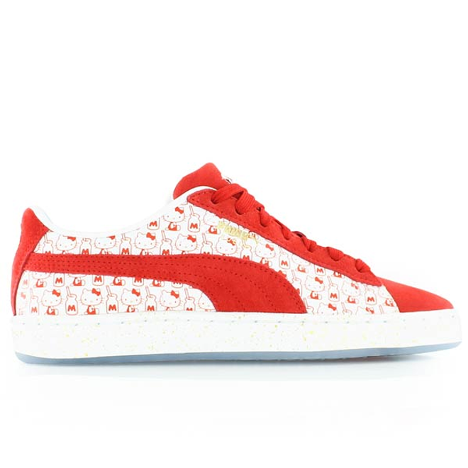 Puma Suede Classic X Hello Kitty Womens