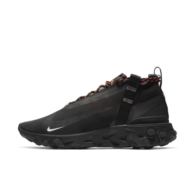 Nike React Runner Mid 'Triple Black'